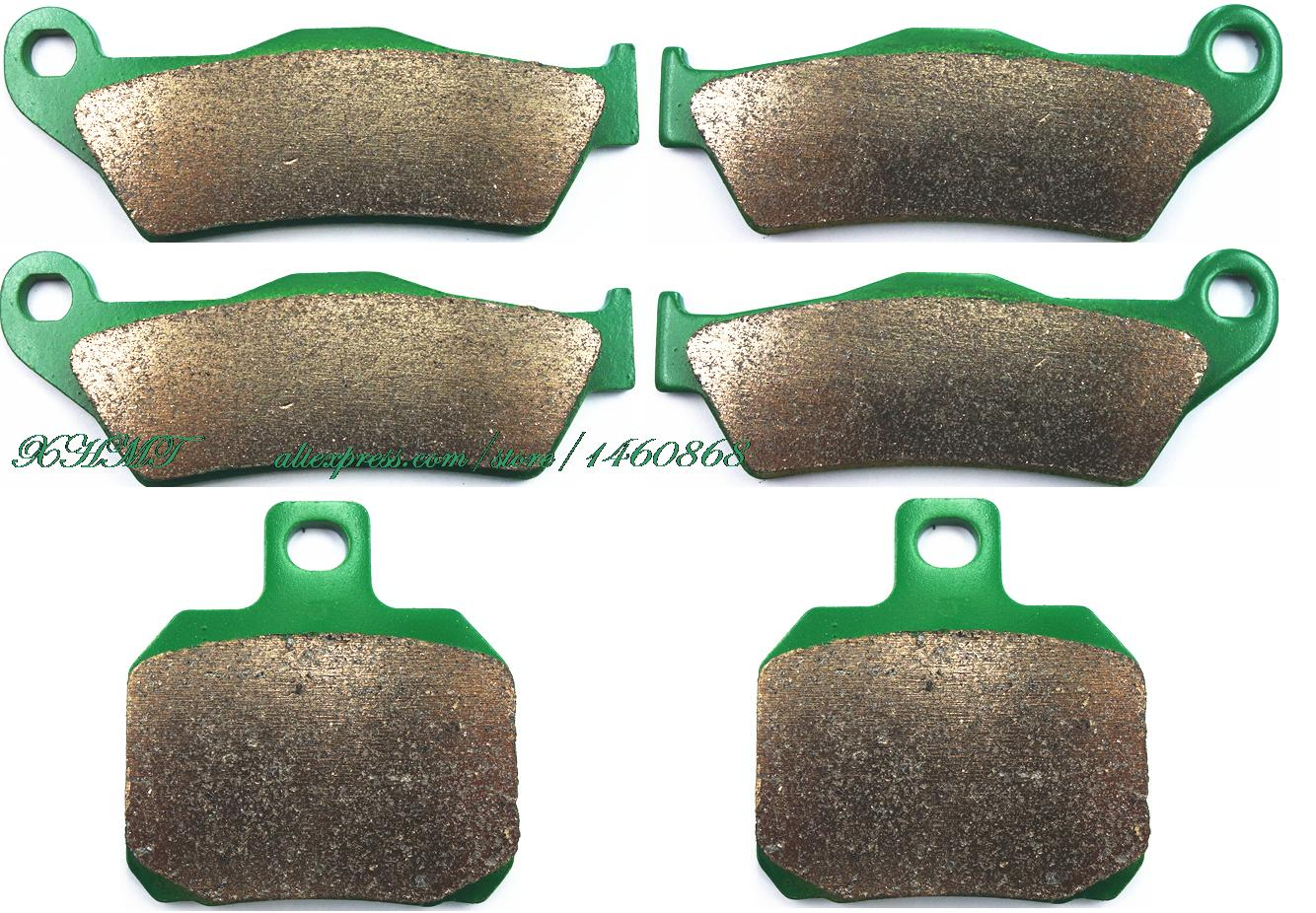 Brake Pads Set for PIAGGIO X9 500 2003 & up/ GILERA NEXUS 500 2004 & up/ DUCATI MONSTER 695 2006 2007 2008 крепеж багажа kappa для скутера piaggio vespa 300 super с 2008 г серый черный