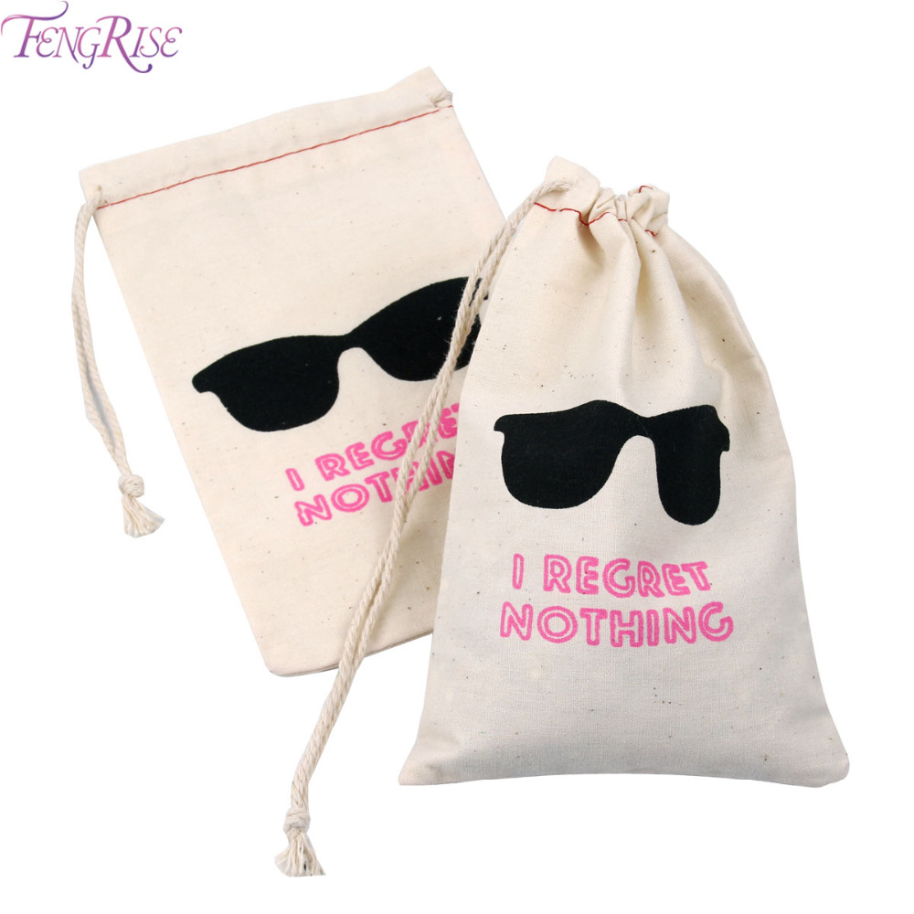 FENGRISE 10pcs I Regret Nothing Hangover Kit Bags Wedding Favors Gifts For Guests Holder Bag Bachelorette Hen Party Supplies