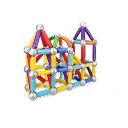 Di costruzione magnetico blocchi educativi per bambini magneti magnetici assemblato grande barra magnetica blocchi di costruzione giocattoli