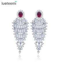 LUOTEEMI New Trendy Jewelry Fashion Russia Design 2 Colors Big Ethnic Stud Earrings Fashion Jewelry Wholesale