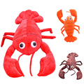 soft creative Baby toys to adult toys stuffed plush cartoon animal shrimp kawaii cute todder Kid children doll gift