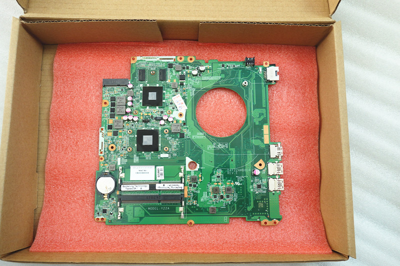 763427 501 fit for HP PAVILION 17 F series laptop motherboard DAY22AMB6E0 REV E A8 6410