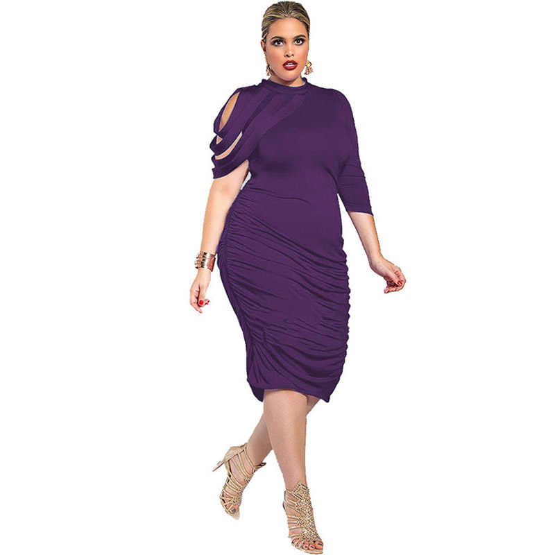 7de7b093020 ... African Dresses for Women Plus Size xxxl 4xl 5xl Blue Wrap Stretch  Bodycon Casual Party Sheath ...