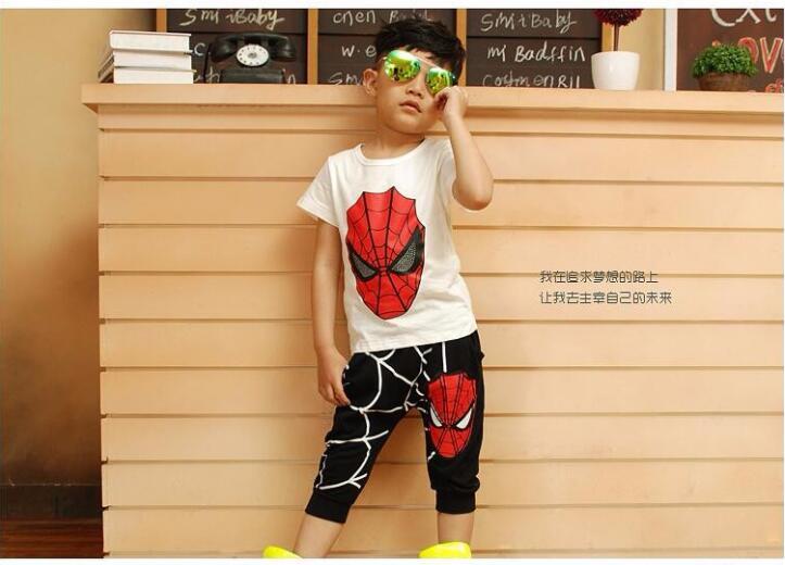 HTB1zqj3RpXXXXb5aXXXq6xXFXXX5 - Boy's Cool Spring/Summer 3 Piece Set - Coat, Pants, and T-Shirt - Spider Man Design