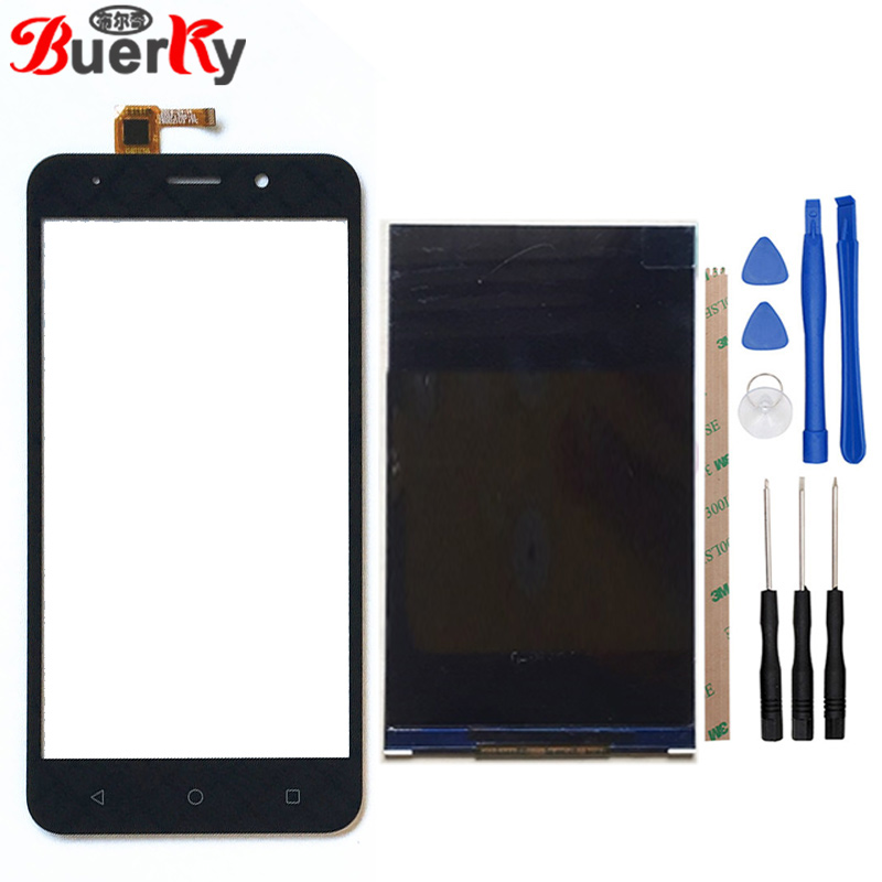BKparts LCD For Vertex Impress Luck LCD Display Touch Screen Touch Panel Glass Lens Digitizer Sensor ReplacementBKparts LCD For Vertex Impress Luck LCD Display Touch Screen Touch Panel Glass Lens Digitizer Sensor Replacement