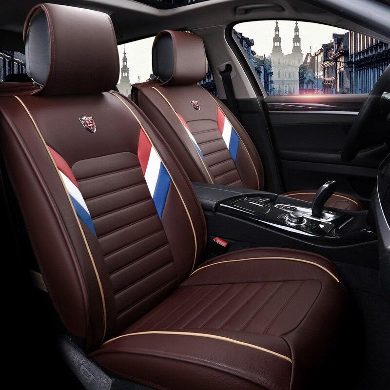 Новинка PU Кожа Авто универсальные чехлы сидений автомобиля для Mitsubishi asx evo lution galant grandis l200 lancer 10 9 x evo наволочки