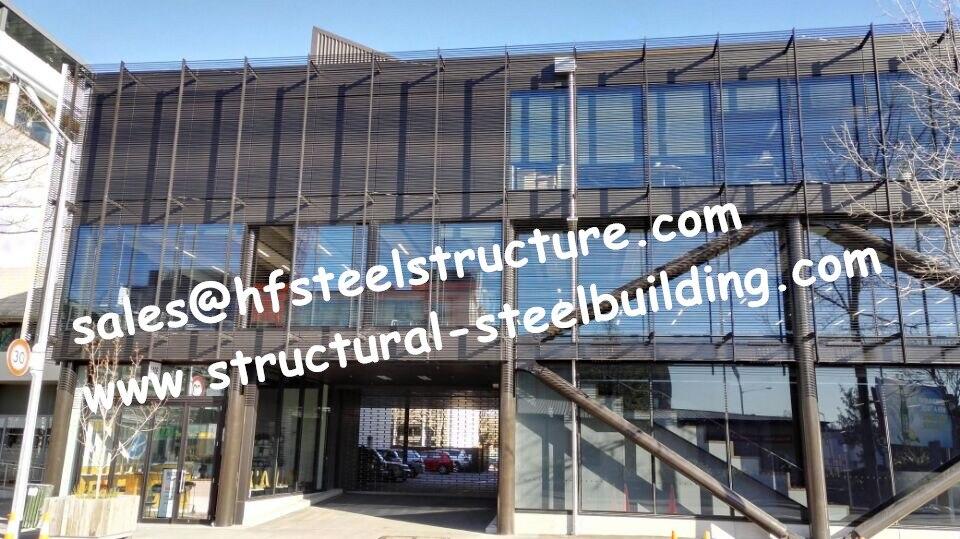 Китайский изготовитель сборных стальных работ обеспечивает высокий подъем и более длительный пролет зданий/стальное многоэтажное здание