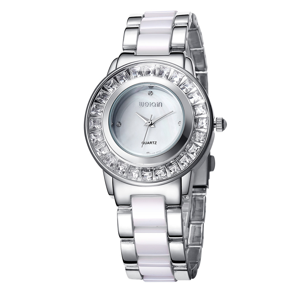 2019New Fashionable and Luxurious Crystal Diamond Watches for Ladies Stainless Steel Strap Waterproof Quartz Watches for Ladies2019New Fashionable and Luxurious Crystal Diamond Watches for Ladies Stainless Steel Strap Waterproof Quartz Watches for Ladies