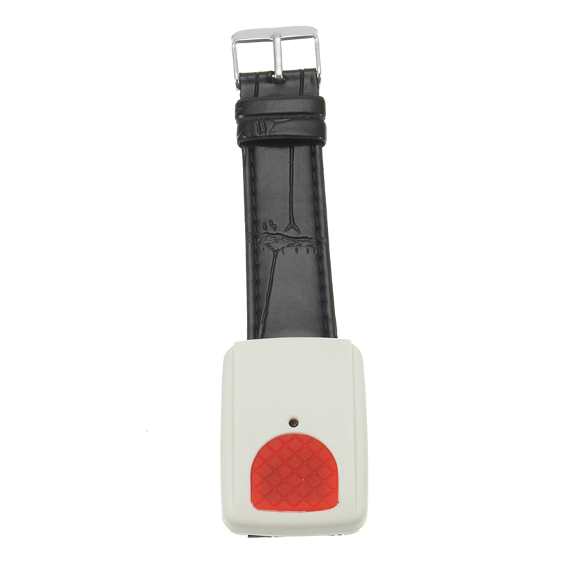 Wolf-Guard JA-03 433mhz Wireless Plastic Emergency Button Wristwatch Work with GSM Alarm System for Elder Kids Home Security wireless service call bell system popular in restaurant ce passed 433 92mhz full equipment watch pager 1 watch 7 call button
