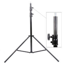 Max entension 280cm LED lighting stand tripod Ajustable Photo Studio Accessories For Softbox Photo Video Lighting Flashgun Lamps(China)