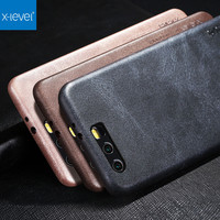 X Level Original Slim Phone Case For Huawei Honor 9 Honor 6X Luxury Vintage PU Leather