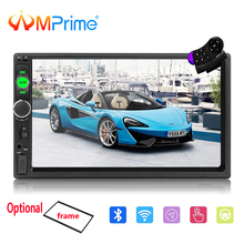 AMPrime Autoradio 2 Din Car Multimedia 7 Touch Car Radio Audio Stereo Mirrorlink 2din Auto MP5