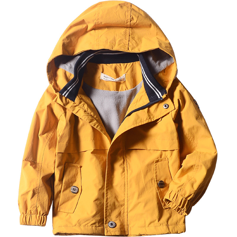 Baby Boys Jacket Autumn Winter Plus Velvet Warm Baby Boy Clothes Waterproof Hooded Toddler Girl Clothing Coat for Kids ClothesBaby Boys Jacket Autumn Winter Plus Velvet Warm Baby Boy Clothes Waterproof Hooded Toddler Girl Clothing Coat for Kids Clothes