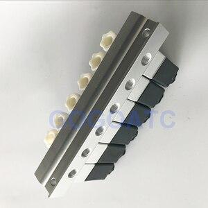 Image 5 - 2 דרך שסתום 6 W פנאומטי אלומיניום סולנואיד שסתום סטי 2V025 06/08 נמל 1/8 1/4 BSP pushfit אבזרי 6mm חשמלי שסתום סעפת