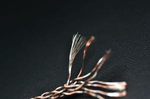Image 4 - 8 Core Braided Semi finished DIY Headphone Upgrade Wire Copper Silver Hybrid 6N OCC