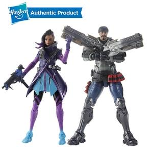 Image 3 - Hasbro Overwatch Ultimates Tracer Sombra Lucio Blackwatch Reyes 6 Cal kolekcjonerskie figurki gorąca sprzedaż popularna na rynku