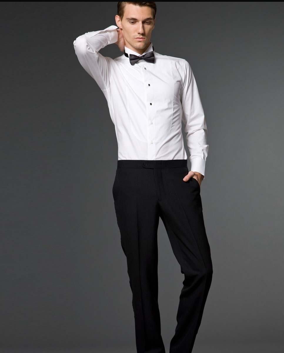 Wholesale100% Cotton Wedding dress shirt Custom Made Tuxedo shirt ...