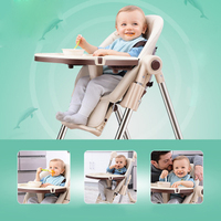 Feeding high chair Dining Chair Children Dining Chair Foldable Multifunctional Portable Baby Highchairs baby seat
