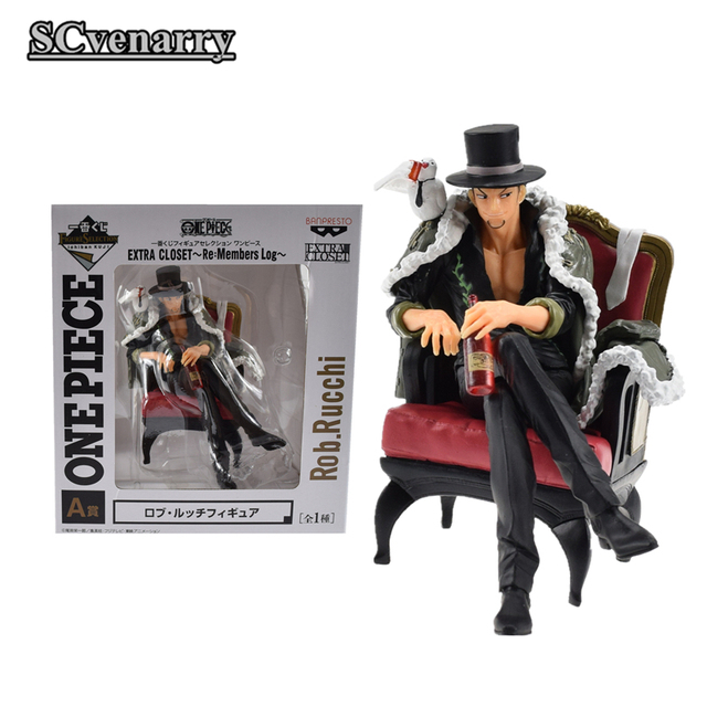 Anime One Piece Dracule Mihawk EXTRA CLOSET Re:Members Log Rob.Rucchi PVC  Colloction