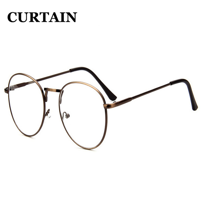 1ea964daa7 Popular Stylish Metal Fine Circular Spectacle Frame Glasses Men Women  Ladies Male Female Retro All-match Glasses