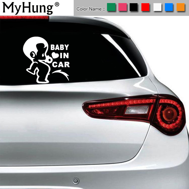Aliexpresscom Buy CM BABY IN CAR Cute Fun Child Car - Custom motorcycle stickers funny