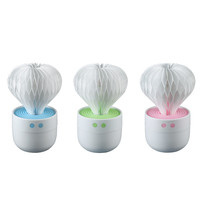 Creative Product Mini Milk Cups Home Aroma LED Humidifier Air Diffuser Purifier Atomizer For Car And