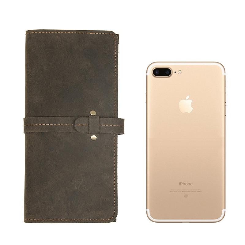 Cowhide Leather Card Pocket Wallet Genuine Leather Man Wallets