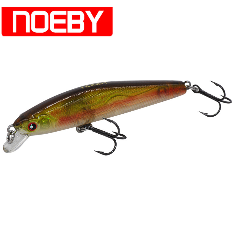 NOEBY Minnow Bait 65mm/4.6g Floating 0-0.5m VMC Hooks Hard Fishing Lure Iscas Artificial Wobblers Leurre Peche Pesca Lure Baits 10pcs set 7g 8g fishing minnow lure reflective 3d eyes hard baits hooks for wobblers pike winter sea fishing iscas minnow