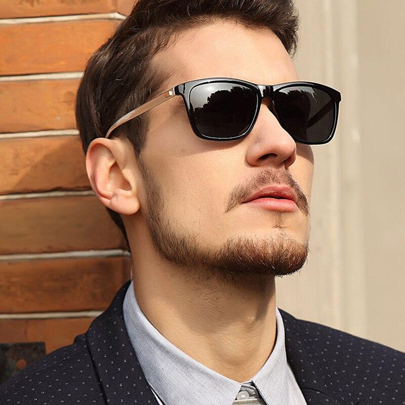 Brand Design Polarized Sunglasses Men Vintage Summer Beach Outdoor Eyewear Goggle UV400 Glasses Handsome Driving Glasses 2019