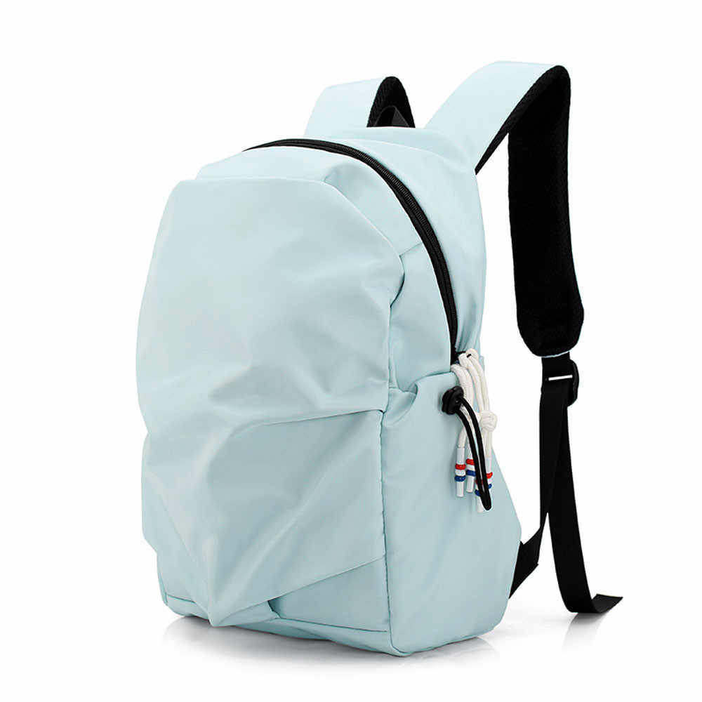 Cotton Backpack School Travel Trip Satchel Women Zipper Luxury Brand Laptop Big Casual Book Daypack For Girl Large Capacity