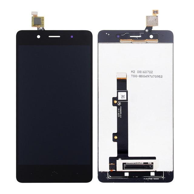 "5.0 ""Ekran Için BQ Aquaris X5 artı yüksek kalite dokunmatik LCD ekran ekran montaj kiti BQ X5 Artı lcd monitör + ücretsiz Araçlar"