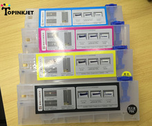 4 color set 220ml empty refill ink cartridge for Roland Mimaki Mutoh printer bulk ink system