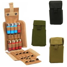 Hunting Gun Accessories Tactical Magazine Pouch Reload 25 Round 12GA Shells Shotgun Cartridge Ammo Bag