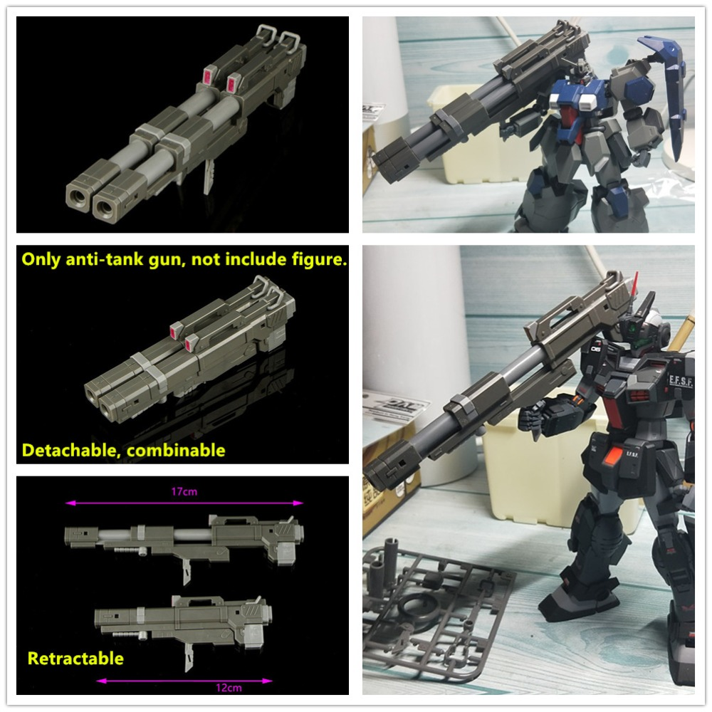 US $25 0 |A model Hyper Bazooka Anti tank gun for Bandai MG 1/100 Gundam  common used Sinanju Strike Freedom Astray Etc DK001-in Action & Toy Figures