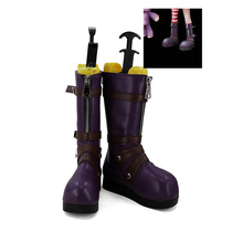 LOL Annie Hastur Cosplay Shoes Boots For Halloween Christmas