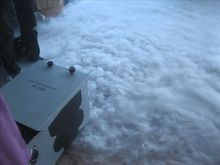 Free shipping awesome Continuous 3000W Low Lying Ground Fog Machine with Oil and Frozen Ice(no need CO2 dry ice) Stage Equipment
