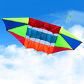 3D Большой Радар Кайт 90 см Летающие Смолы Стержень Кайт Аксессуары с Авоськой Катушка Китайский Открытый Игрушка для Продажи