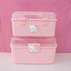 Pink Home Storage Box Medicine