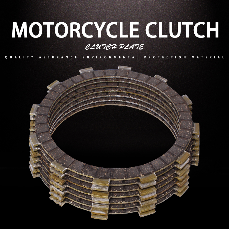 1Set 7PCS Clutch Disc Friction Plates Accessories Clutch Plates For <font><b>Yamaha</b></font> <font><b>XV400</b></font> <font><b>Virago</b></font> 89-94 XVS400 Drag Star XV535 DS4 00-15 image