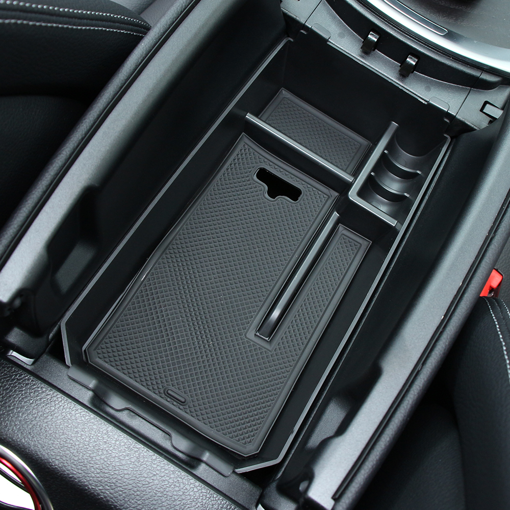 For Mercedes-Benz C Class W205 2015-2018 Armrest Storage Box Center Console Tray