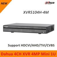 Dahua 4ch HDCVI AHD TVI CVBS Digital Video Recorder XVR5104H 4M 4 Channel Support Mobile Phone