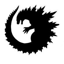 Science Fiction Adventure Godzilla Movie Claws Motorcycles Car Sticker Wall Sticker Caravan Car Cover Waterproof Vinyl Sticker