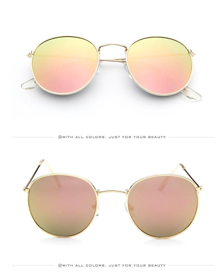 DJXFZLO Retro gafas de sol ovaladas vintage 13