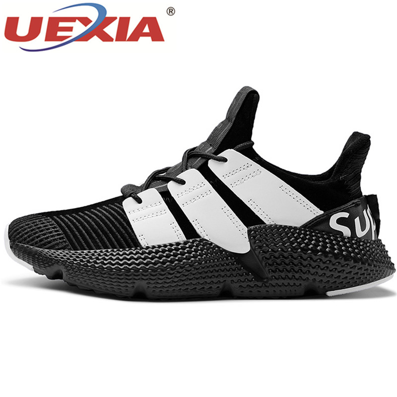 UEXIA Warm Winter Outdoor Sports Sneakers Running Men Shoes Light Damping Comfortable Sports Shoes Zapatos Sneakers Zapatillas women sneakers men running winter thermal shoes ultra light damping air sole walking outdoor training sports shoes plus 36 45