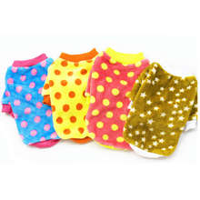 Free shipping Cheap dog clothes winter pet pajamas for small dogs pet products for animal low price clothing for dogs