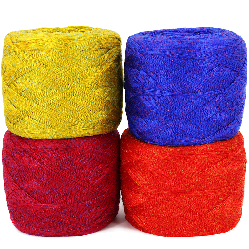 Top Grade 250g Natural Soft Health Smooth Golden Mink Yarn Skein Colorful Wool Crochet Yarn For Knitting Thread,Z2503
