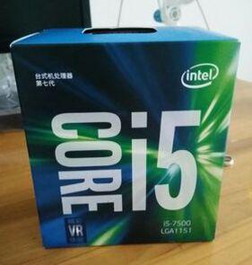 Intel Core 6 series Processor I5 7500 I5-7500 CPU LGA 1151-land FC-LGA 14 nanometers Quad-Core cpu цена