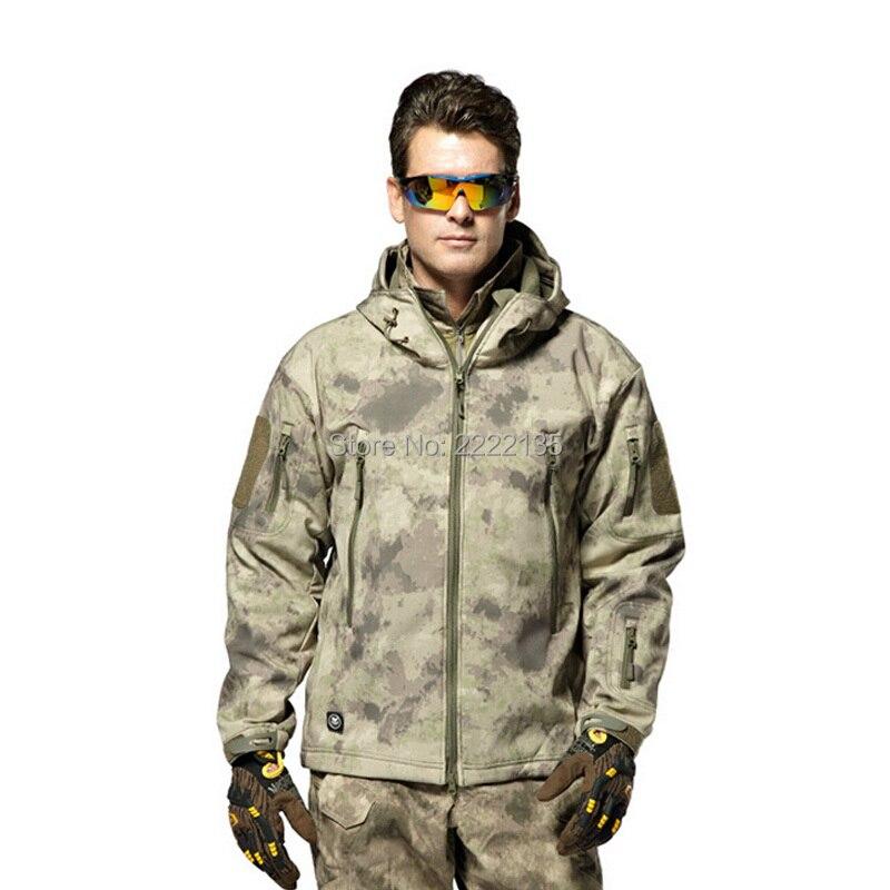 Sportbekleidung Hohe Qualität Tad V 4,0 Lurker Shark Haut Military Tactical Softshell Jacke Männer Windjacke Wasserdichte Hoodie Kleidung 100% Original