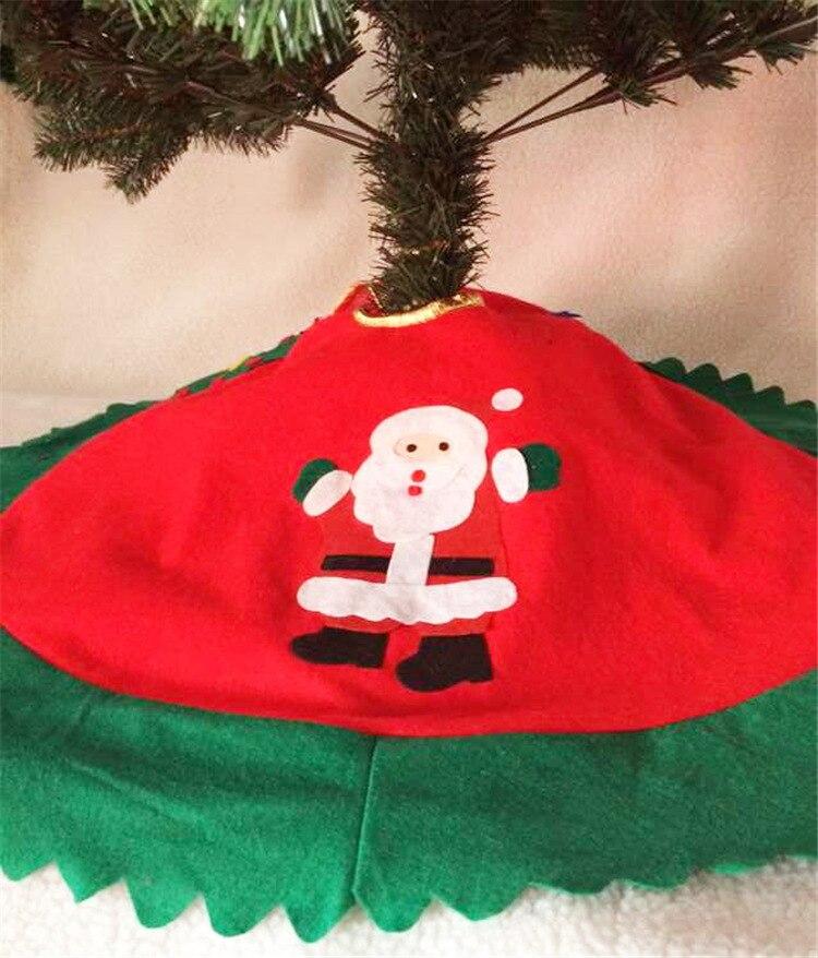 Christmas Tree Skirt Snowman Santa Claus Christmas Decoration Holiday Supply