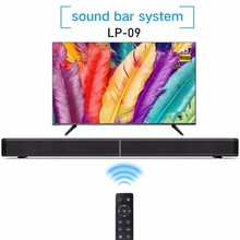 Home Theater 40W Bluetooth Soundbar Bluetooth Speakers Column TV Computer with Subwoofer Optical Coaxial USB AUX Audio Input